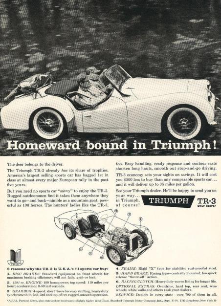 Original Triumph Ad