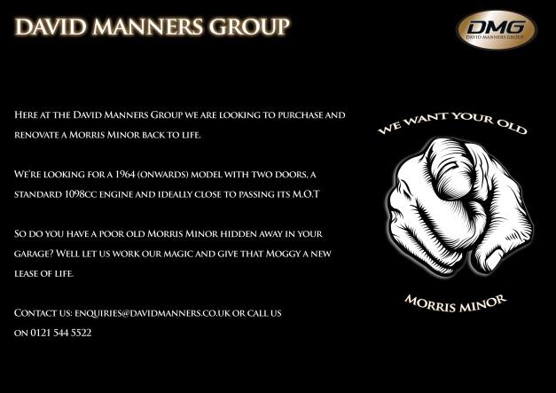 Morris Minor - Needed