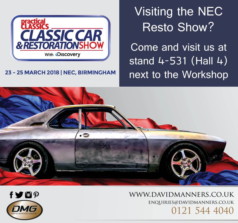 Join Us At The Classic Car Restoration Show David Manners - Classic car and restoration show